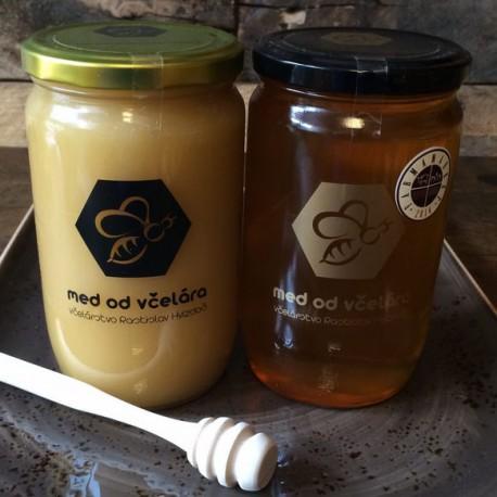 Med od včelára, med lúčny, med pastový, med jarný
