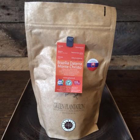 Green plantation pražená káva - BRAZÍLIA dattera monte christo