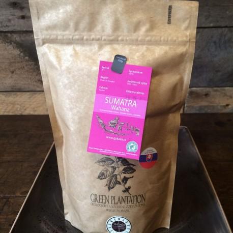 Green plantation pražená káva- SUMATRA WAHANA