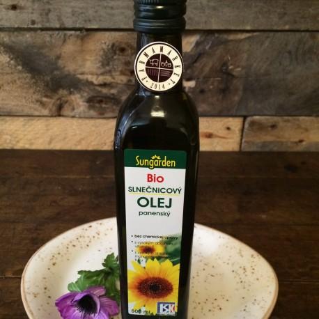 BIO slnečnicový olej panenský