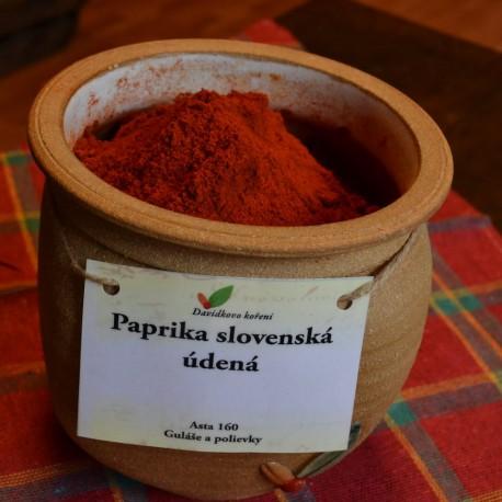 Paprika slovenská údená