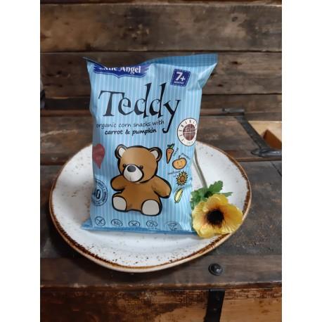 Teddy kukuričné chrumky mrkva tekvica